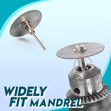 Load image into Gallery viewer, Disc Drill Blades and Mandrel Set