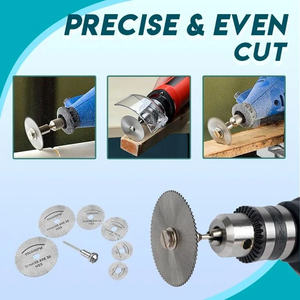 Disc Drill Blades and Mandrel Set