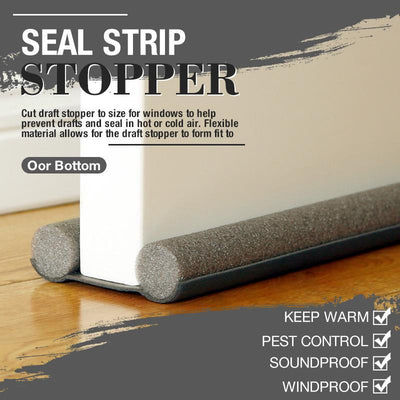 (Hot Sale)Door Bottom Seal Strip Stopper(BUY 5 FREE SHIPPING)