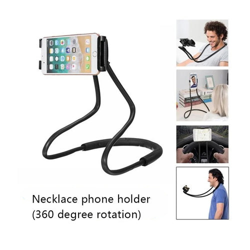 Necklace phone holder (360 degree rotation)