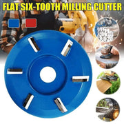 6 Teeth Wood Carving Disc-