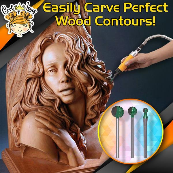 PowerCarve Spherical Wood Carving Bits