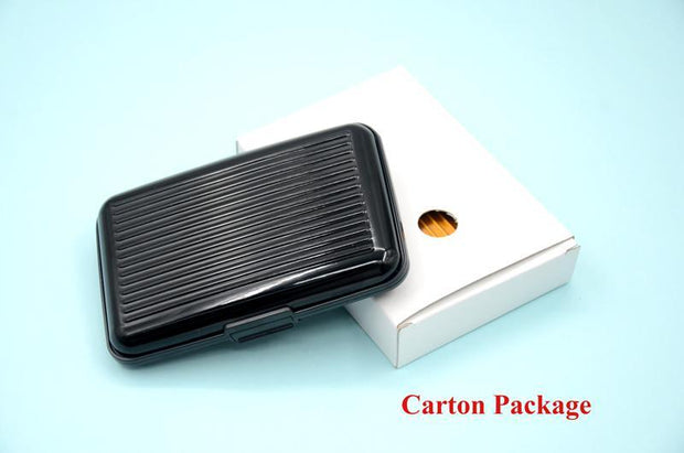 Thick aluminum alloy card package