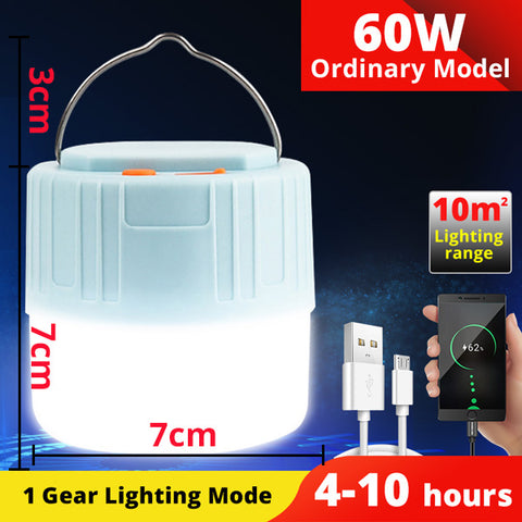 Solar LED bulb light portable LED lantern