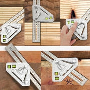 Multifunctional triangle ruler