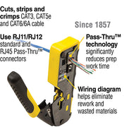 Crimping tool/bolt tool/wire stripper