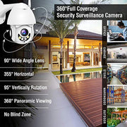 Full HD 1080P security surveillance camera with night vision function