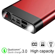 80000mAh power bank portable large capacity mobile phone charger