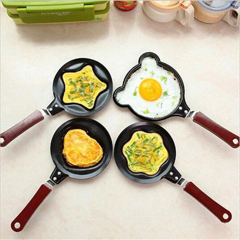 【Wholesale】Egg Frying Non-Stick Kitchen Pan Mini Pot DIY 6 Types