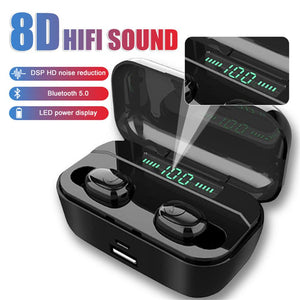 8D Stereo Bluetooth Headset【40%OFF】