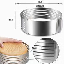 Load image into Gallery viewer, Adjustable Stainless Steel Cake Slicer