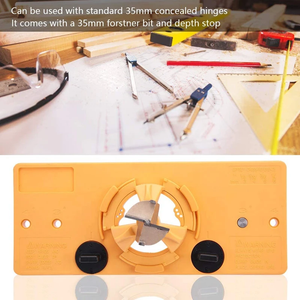 Woodworking 35mm Hinge Hole Jig Guide