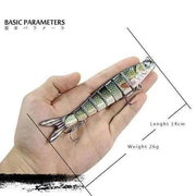 Swimming Fish Lure - catch big fish made easier