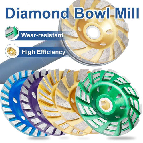 Durable type 5 4 inch 100 mm diamond grinding wheel