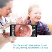 Multifunctional HD clean otoscope