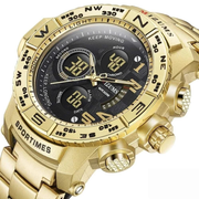 Pure Gold sporty digital watch