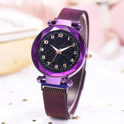 Luxury Women Magnetic Starry Sky Watches