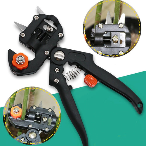 Multifunctional grafting pruning shears