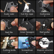 Multifunctional Hexagon Folding Outdoor Screwdriver Tool