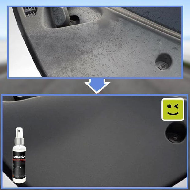 Car Plastic Restore Solution