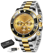 Men's Watch Business Waterproof Date Watch