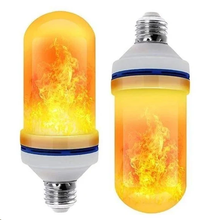 Load image into Gallery viewer, LED Gravity Effect Fire Light Bulbs for Home Decor (Halloween Special)