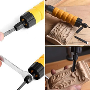 Electric Wood Chisel Carving Tool [2020 Upgraded]
