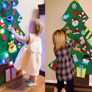 DIY Felt Christmas Tree NOW UP TO