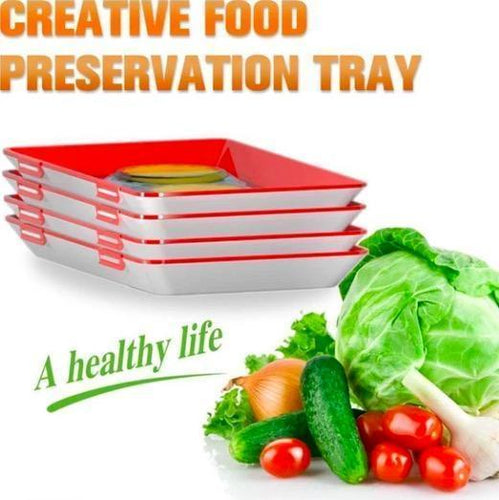 Creative Food Preservation Tray(Buy three get one free)