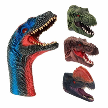 Load image into Gallery viewer, Dinosaur Hand Puppet Gloves
