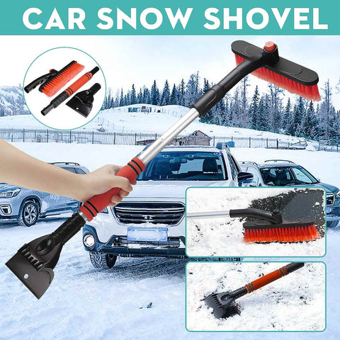 3-in-1 car windshield snow removal tool