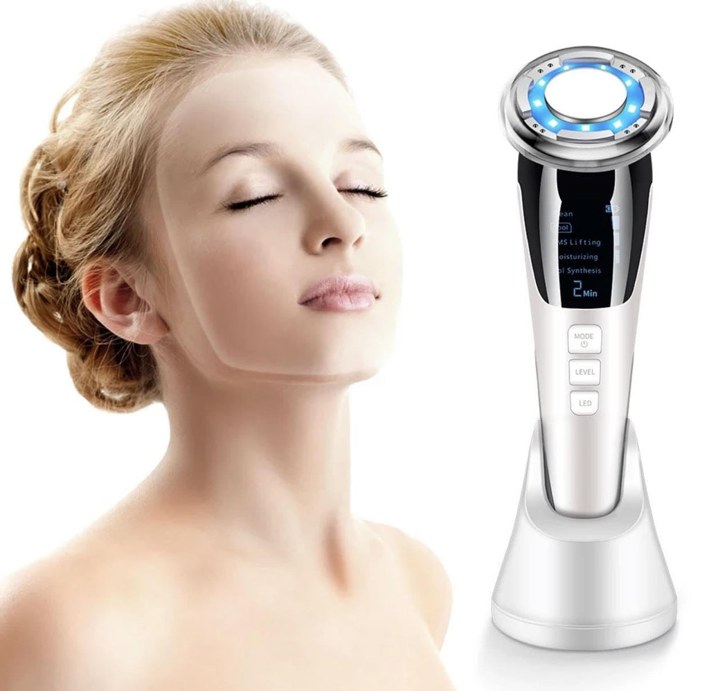 iAgeless EMS Micro-Currrent LED Photon Sonic Vibration Hot Cold Skin Rejuvenation Device (AU Stock) - PuriFresh