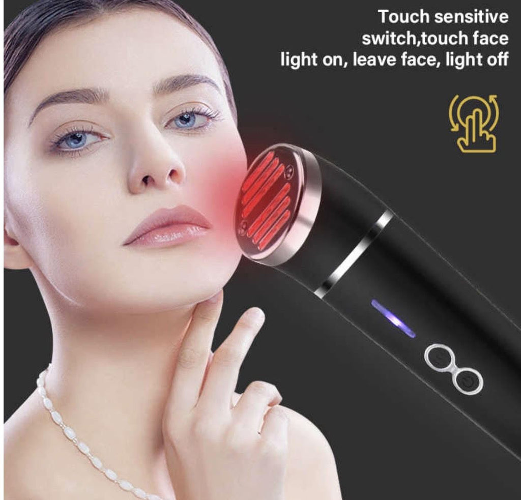 COMBO DEAL iAgeless Infrared LED Facial Rejuvenation Beauty Device + Ultrasonic Ion Deep Cleansing Exfoliation Device (AU Stock) - PuriFresh