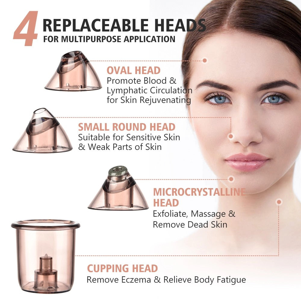Bundle Deal ! iAgeless Premium Microdermabrasion Vacuum Blackhead Remover (AU Stock)
