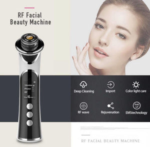 COMBO DEAL iAgeless RF Radio Frequency Photon Face & Skin Rejuvenation Beauty Device + Premium Vacuum Blackhead Remover (AU Stock) - PuriFresh