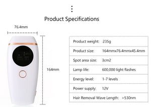 iAgeless Glowy Skin IPL Hair Removal Device (AU Stock) - PuriFresh