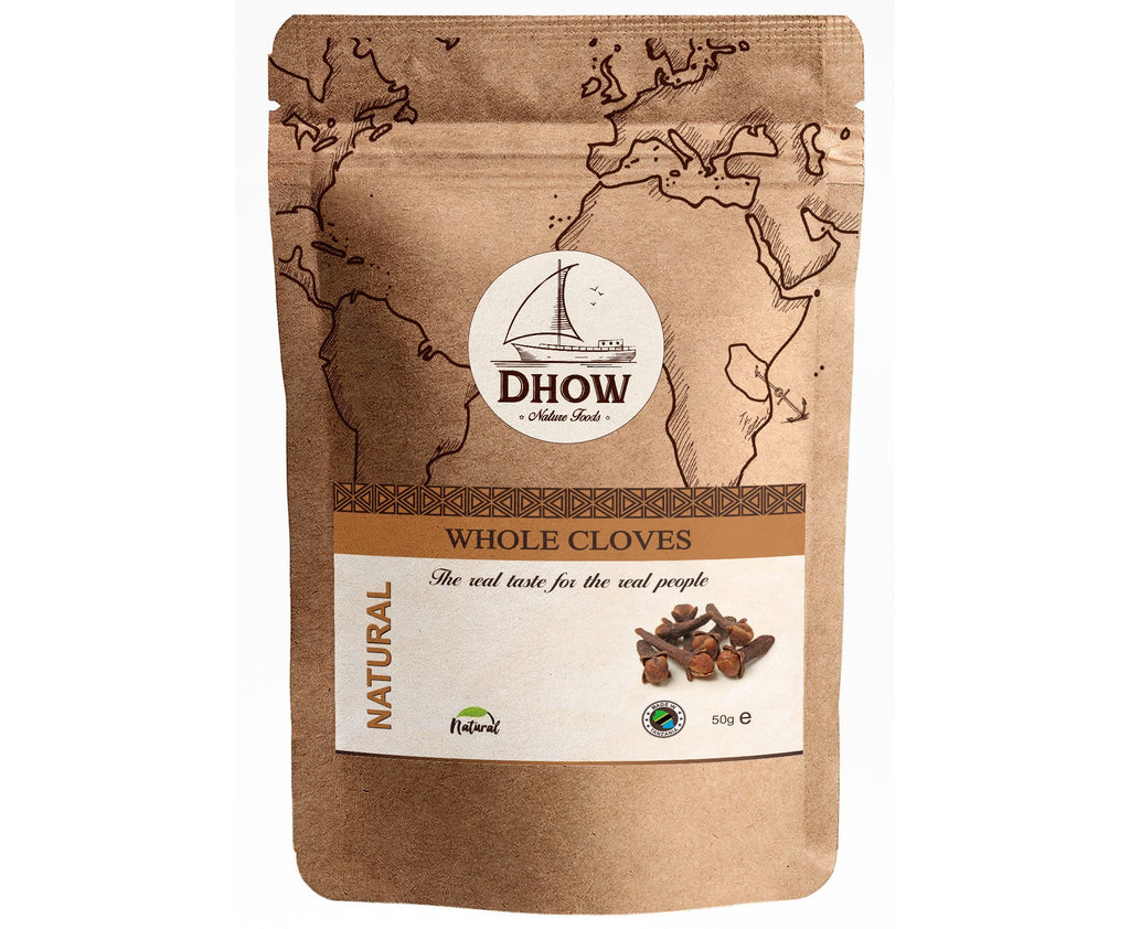 Natural Whole Cloves (50g) - Dhow Nature Foods (Australia)