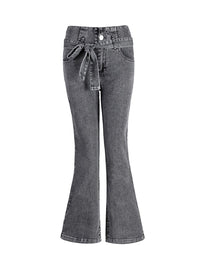 High-waisted Wide-leg Jeans