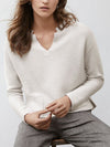V-neck Pocket Sweater
