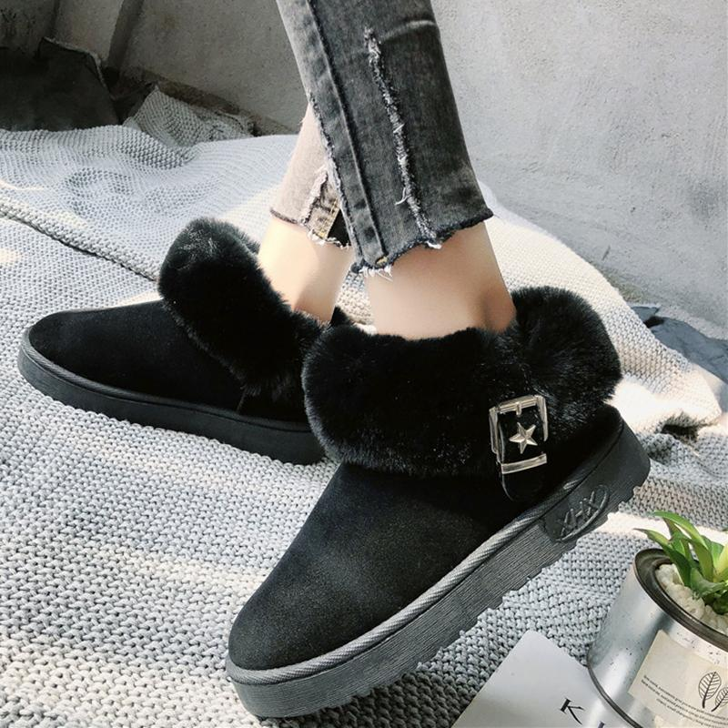 Women's Warm Snow Boots Outdoor Soft Ankle Boots