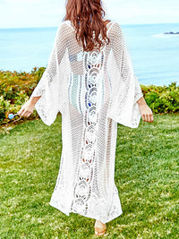 Loose Casual Openwork Lace Beach Sunscreen Cardigan
