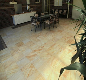 TEAKWOOD - HONED SANDSTONE