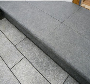 PEARL BLACK GRANITE - FLAMED FINISH