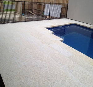 SUNSET GOLD GRANITE - Bush Hammered Finish