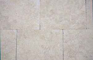 IVORY BEIGE LIMESTONE - BRUSHED AND TUMBLED