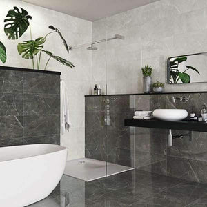 DARK GREY - FULLY POLISHED PORCELAIN