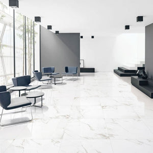 CARRARA MARBLE -  PORCELAIN TILES