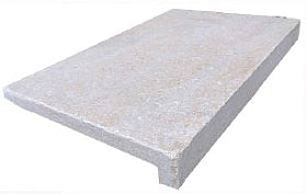 BUSH PEARL LIMESTONE - BRUSHED AND TUMBLED