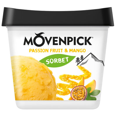 Mövenpick Délices de fruits Crème glacée fruit de la passion & mangue (900ml)