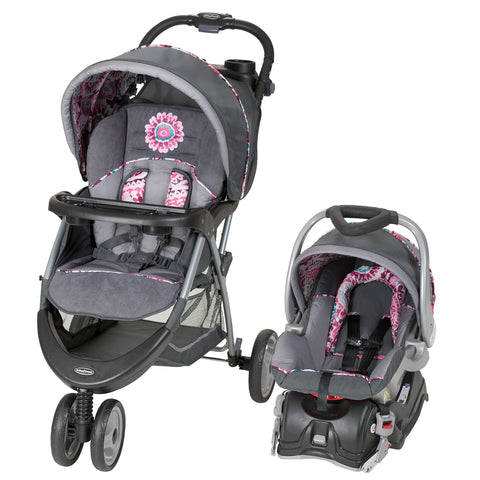 EZ Ride 5 Travel System, Paisley